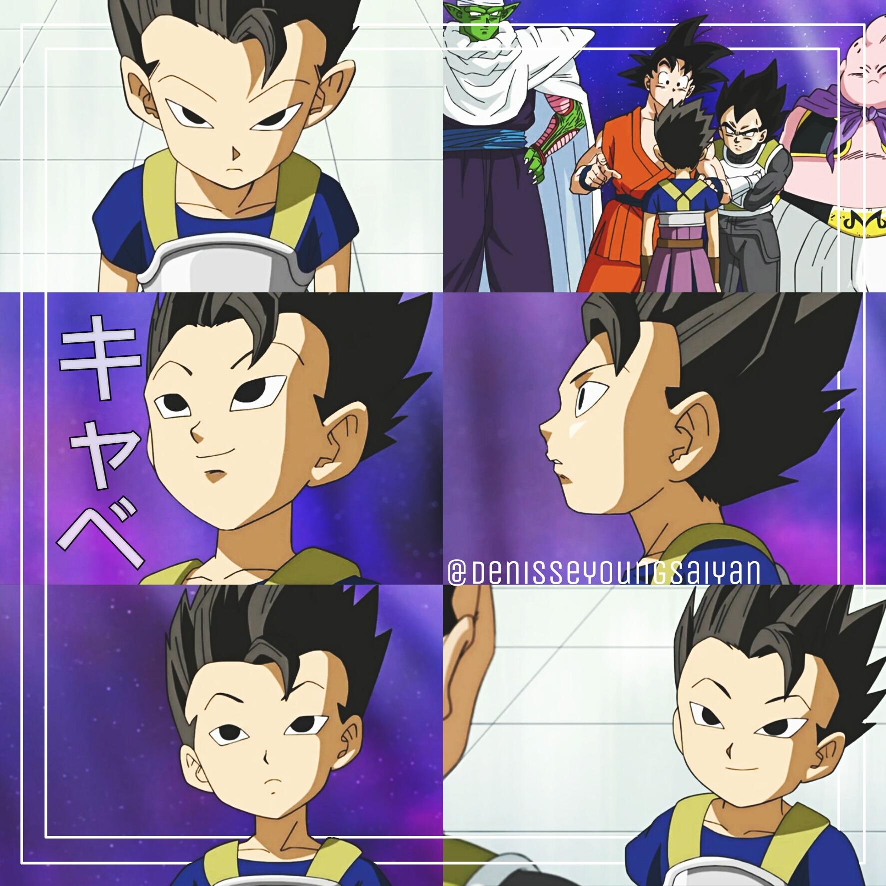 Dragonballsuper Dbsuper Dbs Kyabe Cabe Anime Goku Veget