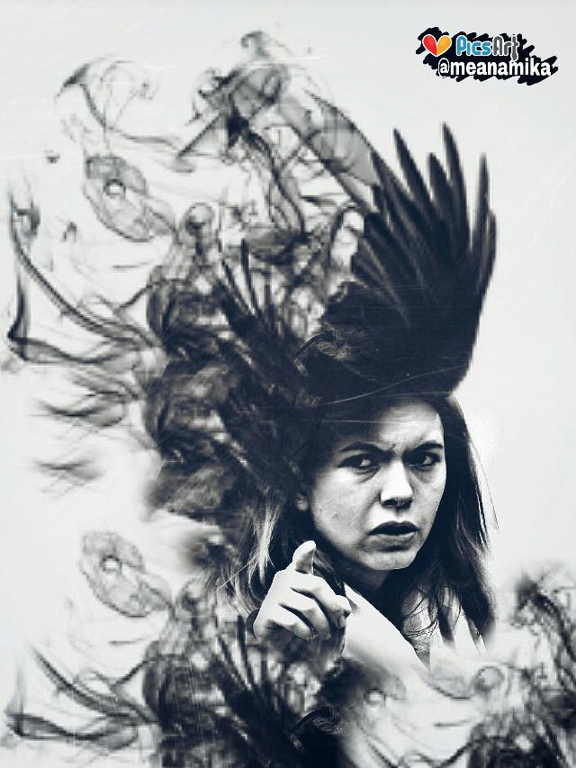 Edit to freetoedit #portrait by @mauryagentino using #afterdark #art #darkart #drawstepbystep #dodger