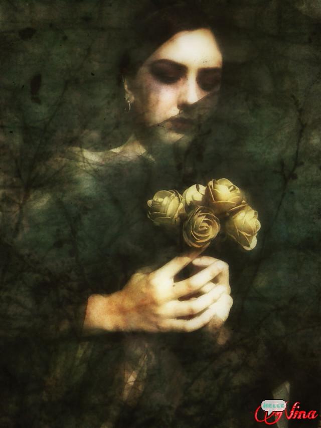 #artisticselfie   #digitalmakeup  #emotions Selfportrait Memories of you  @gizemkarayavuz  ^_^