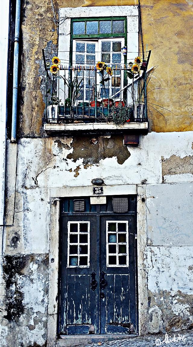 #travel  #lisboa  #hdr #photography #window #lisbon #doors