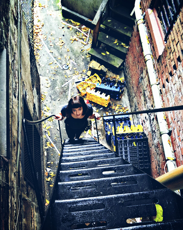 One of my best friends and one of the greated days.!  #August 2014 #adventuring #rebelchildren #streetphotography  #fireescapes #Baltimore