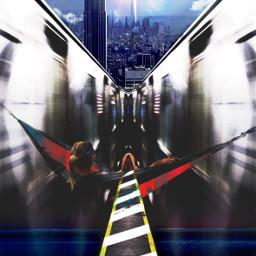 travel nyc subway pov life