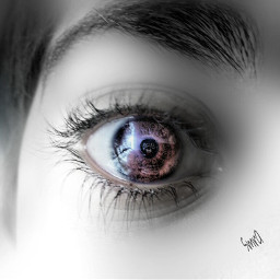 baby blackandwhite eye photography people