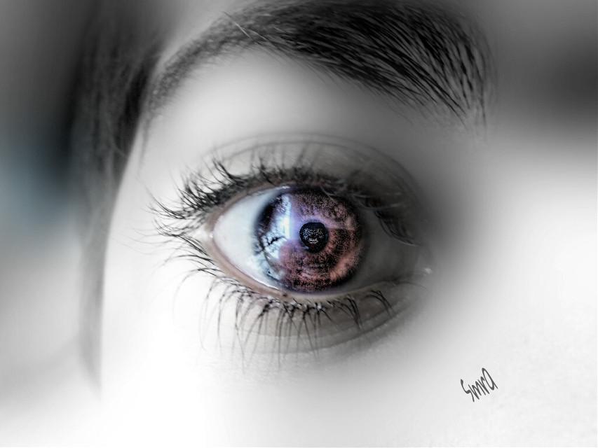 Eyes speak a lOt....l'll brOo
