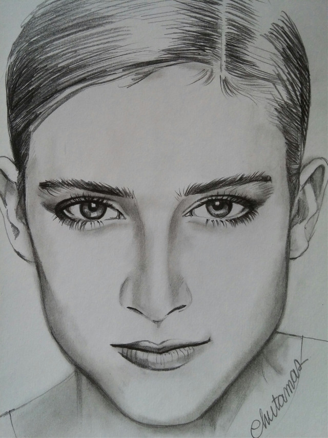 #drawing   #blackandwhite  #pencilart #light and shading #woman #so sweet