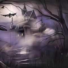 Draw,a,spooky,scene,with,PicsArt.,Enter,the,Contest,with,the,hashtag,#dcSpooky.,