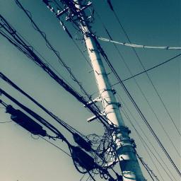 photography mobilephotography mobilephotograph sky 電線