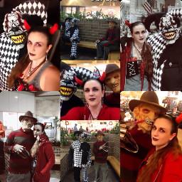 halloween people creepy badass selfies