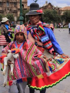 colorfull peru cusco photography people