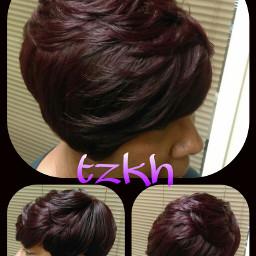 hair vintage colorsplash colorful people