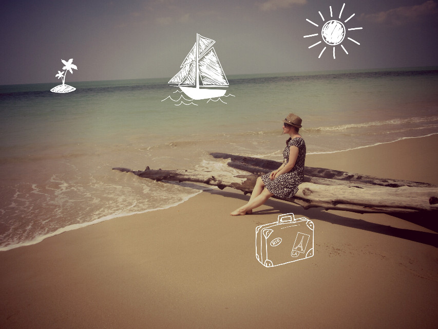 #beach #girl #summer  #Thailand