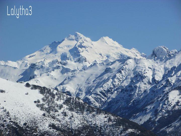 Mount Tronador #patagonia #Argentina  #photography #travel #winter #snow #nature  #mountain