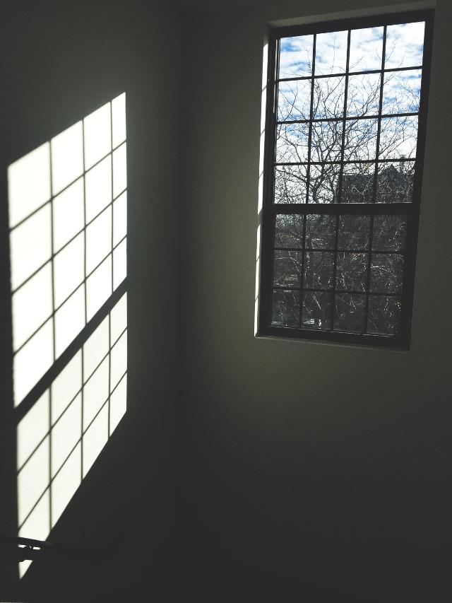 #light #Goodmorning #Window #Bluesky #shadows #Drama #Fall #Sky #Grid