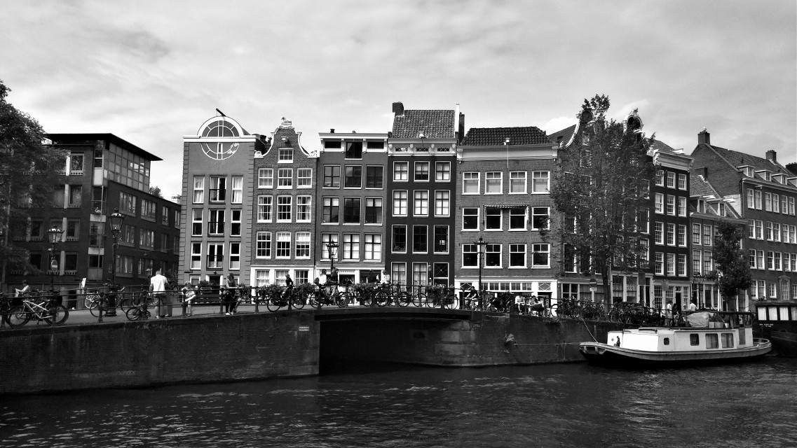 #amsterdam #thenetherlands  #blackandwhite