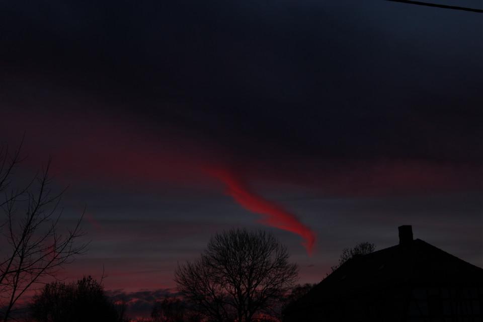 #sun goes down  #sun  #sky  #clouds