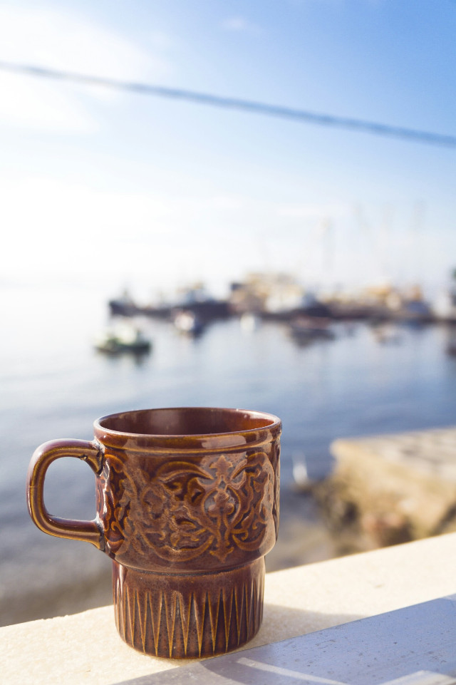 Good morning coffee... #colorful #nature #people #photography #bokeh #beach #emotions