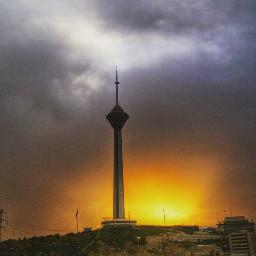 hdr rain sun sky photography