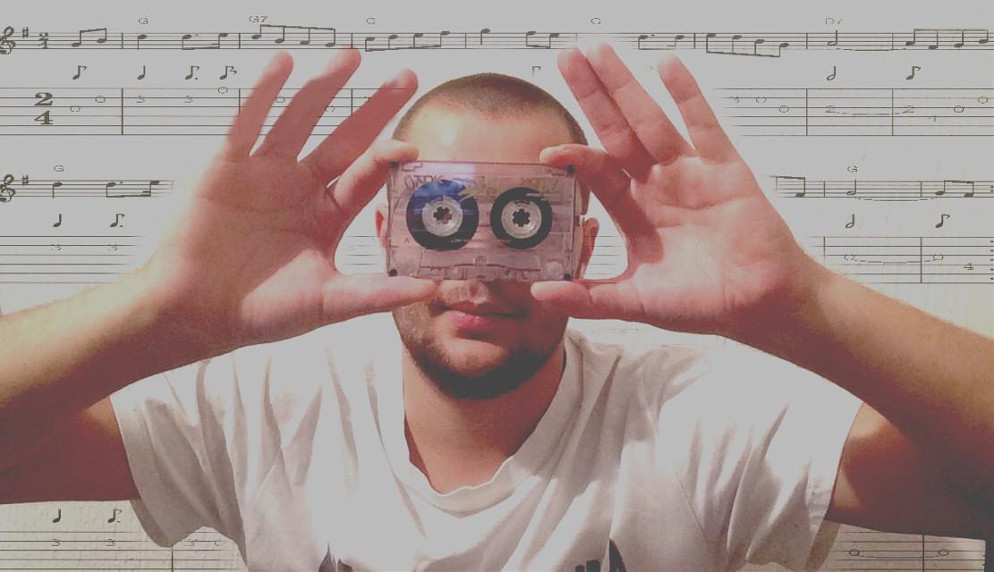 #music #note #notes #casetta #me #interesting #retro