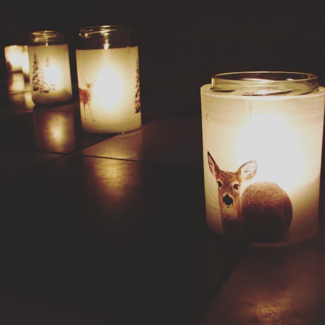 Dark side of the year  #candles #light #season