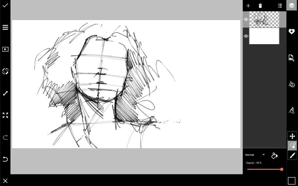 draw portrait sketch
