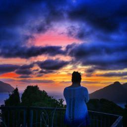huiapoint sunset summerloving newzealand