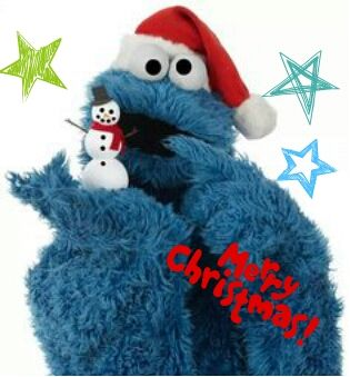 Christmas Cookies Cookiemonster Hello The Cookie Mons