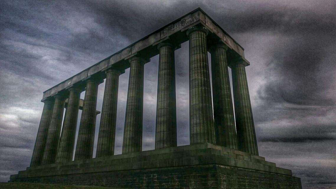 #edimburgo  #scotland  #ruins Original: My brother Gonzalo