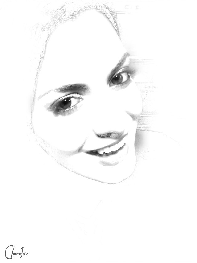 #White #Selfie #portrait