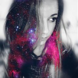 galaxy_hair photo edit picsart