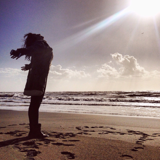 Beautiful day😊 #happy #beach #me #sea #interesting #emotions #nature #photography