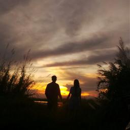 memories photography spring sunset sky