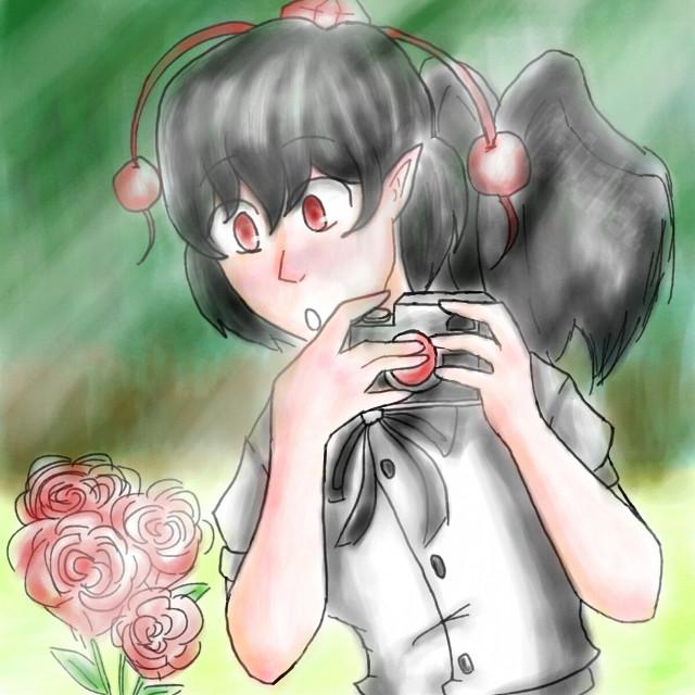 Drawing her is quite fun tho #touhou #ayashameimaru