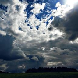 russia russiannature sun sky forest