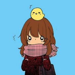anime masking kawaii cute