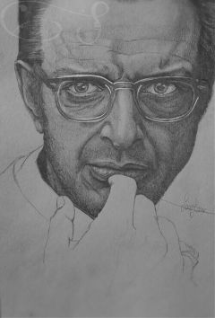 drawing pencil jeffgoldblum myinspiration blackandwhite