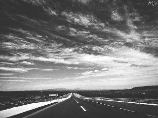 mexico travel blackandwhite trip road