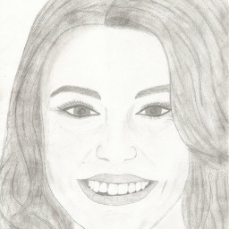 cherlloyd drawing draw portrait smile