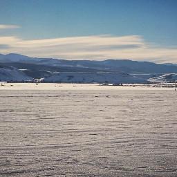 photography nature winter landscape mountains