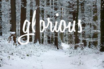 nature snow winter typography switzerland