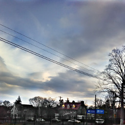 photography housing sky clouds landscape