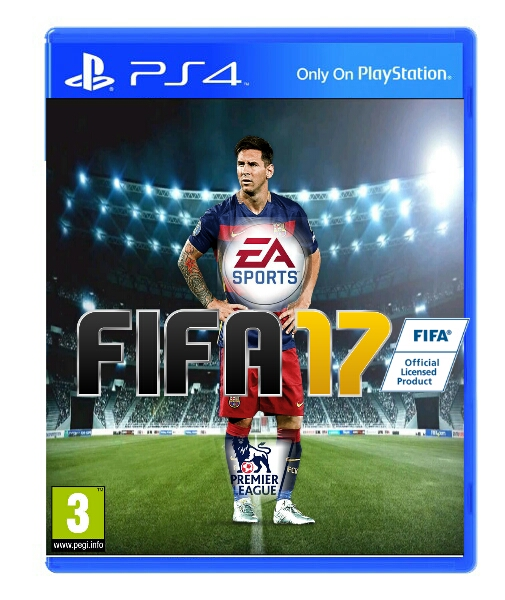 PicsArt FIFA 17 Covers - Photo by Souzel Louis