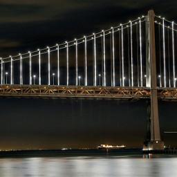 nightsky bridge canon6d sanfrancisco longexposure