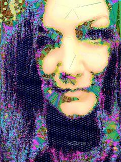 editstepbystep artistic portrait collage