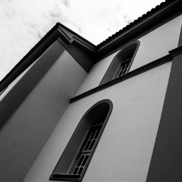 photography blackandwhite travel oldphoto church