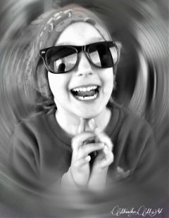 laughter happychild blackandwhite emotions smile