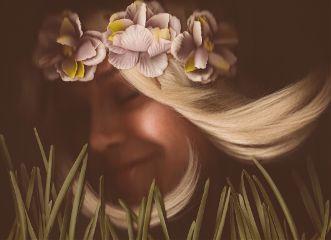 artisticselfie selfportrait self scanography spring