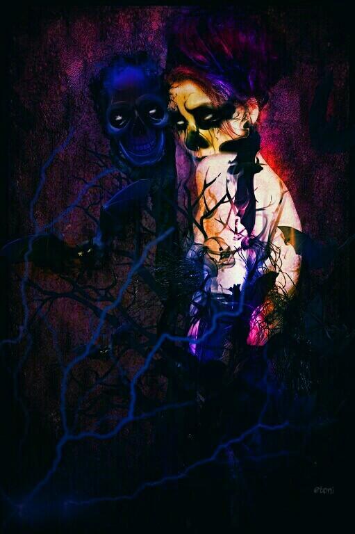 #FreeToEdit #colorsplash #graphicdesign #artist #clipart #addcolor #afterdark #skull