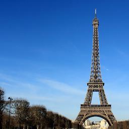 paris france eiffel tower city