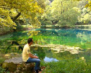 lake beautiful park photography people