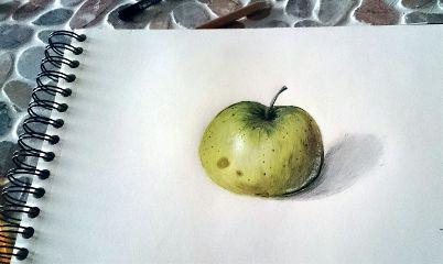 emotions colorful pencilart nature drawings